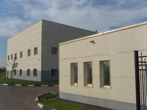 Силовая подстанция «Внуково» Москва (Подсистема «Волна-1», цементноволокнистая плита)