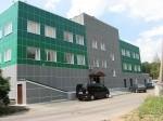 Здание заводоуправления. г.Зеленоград (волокнистоцементная плита, Волна-1)